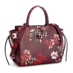 Open Road Floral Society Satchel at Guess Guess Handbags, Fashion Bags, Satchel, Floral Prints, Purses, Accessories, Women, Closet, Products
