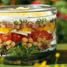 Recipe.com: Our Most Popular Seven Layer Salad Recipes    7-layer salad draws a crowd at nearly every potluck or picnic. These easy recipes cover all the variations that will net big raves from 7-layer salad fans.