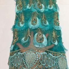 Beautiful flower french lace nigerian Beads wedding dress fabric wholesale african tulle net laces fabrics dubai for African Lace, African Fabric, Event Dresses, Party Dresses For Women, Tulle Lace, Lace Fabric, Fancy Skirts, Pretty Wedding Dresses, Lace Weddings