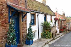 Ruta en coche por los encantadores pueblos pesqueros de la costa de Fife: Crail, Anstruther, St Monans... Una excursión ideal desde Edimburgo. Costa, Scotland, Small Island, Islands, Edinburgh Castle, Fishing Villages, Golf Courses