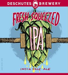 *Deschutes Fresh Squeezed IPA - this mouthwateringly delicious IPA gets its flavor from a heavy helping of citra and mosaic hops. Don't worry, no fruit was harmed in the making of this beer. American Ipa, Beer Week, Beer Company, Summer Drinks, Craft Beer, Brewery, Alcoholic Drinks, Product Launch, Fresh