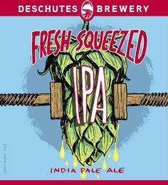 "@Deschutes Brewery Offers New ""Fresh Squeezed IPA"". #beer #craftbeer #IPA"