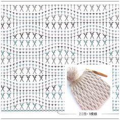 Оригинальный рельефный узор крючком: отлично будет смотреться на пледах, снудах и шарфиках. MAMALAMA: творим с любовью ❤