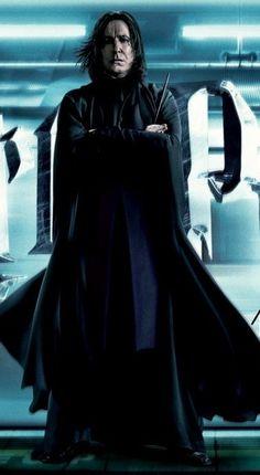 Professor Severus Snape, Snape Harry Potter, Harry Potter Severus Snape, Alan Rickman Severus Snape, Severus Rogue, Harry Potter Universal, Harry Potter Characters, Harry Potter World, Albus Dumbledore