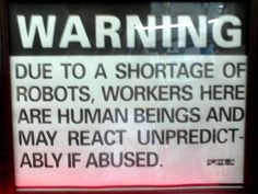 I would like to tape this to my desk at work so that all can see and be warned.