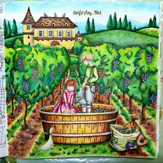 A day at the winery farm 📒 Romantic Country - The 3rd Tale by @eriy06 [No.1]
