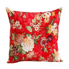 Top Quality Beautiful Flowers Sofa Bed Home Decor cushion cover # 111
