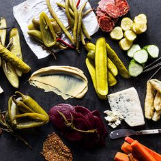 This holiday, forget the cheese-and-cracker spreads of Christmases past and impress your guests with a seriously bomb pickle board instead.