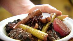Mulled wine and oxtail stew recipe