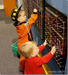 Playing with the geoboard
