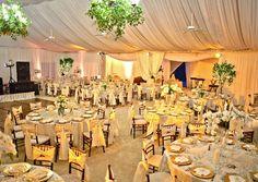 Reception tent!