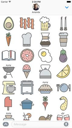 A Cuter Donut Emoji(-ish) & More to Obsess Over in Our New Sticker Pack Cool Art Drawings, Kawaii Drawings, Doodle Drawings, Easy Drawings, Doodle Art, Emoji Drawings, Kawaii Doodles, Cute Doodles, Bullet Journal Ideas Pages