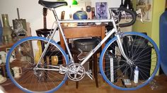 1981 Norta F16 Aero Dynamic. One of the first aero frames with Shimano Adamas/600ax aero group. From first owner. Needs a good clean and new grease.