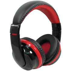 Billboard Bluetooth Over-ear Foldable Headphones With Microphone (red)  #Affordableipads #Affordablebooks #Affordabledvds #ADLE #Usedbooksworld #Qualitycds
