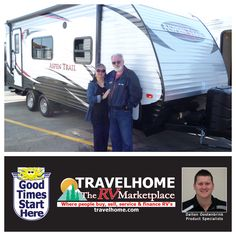 Congratulations to Dennis & Patricia on the purchase of their Aspen Trail 1900RB #traveltrailer from Dalton! #aspentrailrv #camping #travel #travelhome #rving #vacation