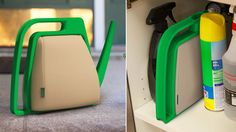 A Fold-Flat Watering Can Designed For Your Cramped Balcony Garden