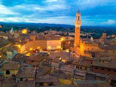 Siena - Piazza del Campo Torre del Mangia