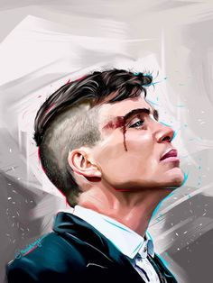 "soquidus-snake: "" Peaky Blinders - Tommy Shelby by KevinMonje on @deviantart """