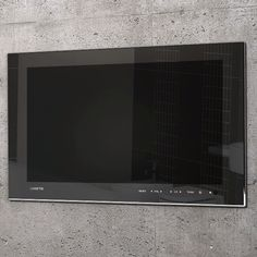 19 inch Waterproof TV Black Finish Kitchen Products, It Is Finished, Mirror, Black, Ideas, Home, Black People, Ad Home