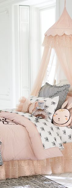Emily & Meritt Girls Bedding Collection #kids #girlsrooms
