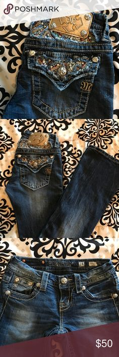 Miss me Jeans My favorite miss me's! Don't fit anymore. Size 24x31 Miss Me Jeans Boot Cut