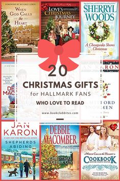 Check off your holiday gift list with these 20 Christmas gifts for Hallmark Christmas Movie fans who love to read! Give them a gift they're sure to love! I Love Books, Good Books, Books To Read, Hallmark Christmas Movies, Christmas Books, White Christmas, Feminist Books, Unique Christmas Gifts, Book Lovers Gifts