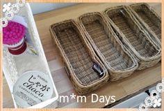 セリアで買った籐かごでキッチン収納を見直してみました じゃ1423720665092.jpg