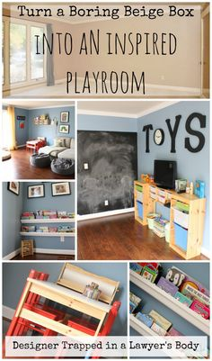 Ideas to create an inspired playroom by Designer Trapped in a Lawyer's Body.   #ikeaplayroom