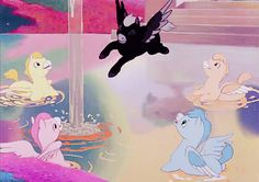 harleyhendrix:  vintagegal:  Disney's Fantasia (1940)  I always thought the black one was the prettiest