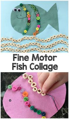 This Fine Motor Fish Collage is from our contributor Nicola at Craftykidsathome.com Living by the sea is a huge influence on our arts and crafts activities and we often find ourselves making something connected with the sea. Our favourites so far have been our Bubble Wrap Jellyfish and our Tape Resist Clown Fish. Today we …