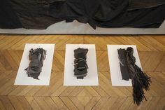 Installation de la plasticienne Manon Gignoux à l'Académie des Beaux Arts