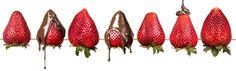 Fresh Strawberries covered with Chocolate Chocolate Fountains, Melting Chocolate, Strawberries, How To Memorize Things, Fresh, Melt Chocolate, Strawberry, Berries