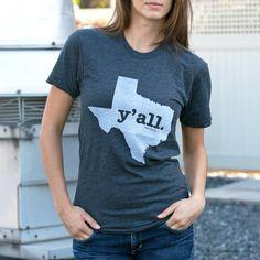 Texas Y'all T