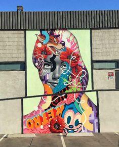 Amazing Street Art by Tristan Eaton