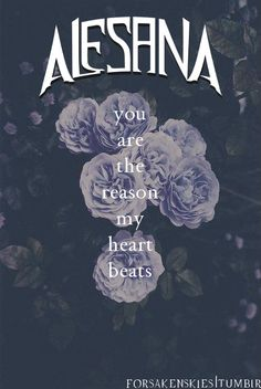 Alesana | The Thespian | forsakenskies  You are the reason my heart beats...