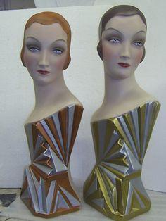 Art Deco Fan girls
