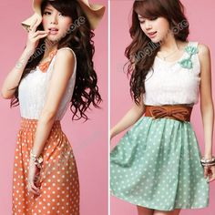 new-fashion-font-b-women-s-b-font-clothing-sweet-lovely-lace-chiffon-polka-dot-casual.jpg (550×550)