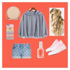 """""""Untitled #94"""" by xoastriddxo on Polyvore featuring STELLA McCARTNEY, Essie, Casetify, Converse and Neiman Marcus"""