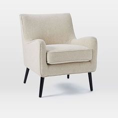 by West Elm Book Nook Armchair, Boucle, Wheat Ups. by West Elm Plywood Furniture, Ikea Furniture, Furniture Logo, Retro Furniture, Steel Furniture, Rustic Furniture, Furniture Buyers, Furniture Online, Furniture Design