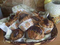 Le plaisir des papilles: Muffins aux dattes (3) Muffins Sains, Fudge Cake, Healthy Muffins, Blue Berry Muffins, Blueberries Muffins, Clean Recipes, Scones, Biscuits, Blueberry