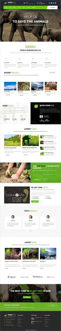 Greenture is a wonderful responsvie 2in1 #WordPress theme for #environment or non-profit #organizations website download now➩   https://themeforest.net/item/greenture-environment-nonprofit-wordpress-theme/17283984?ref=Datasata