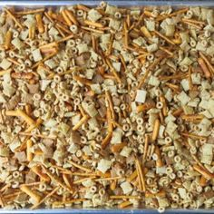 """This is the Homemade Nuts and Bolts recipe you have been looking for from """"the side of the cereal box"""" -from your childhood. Christmas Snacks, Christmas Brunch, Christmas Baking, Christmas Crafts, White Christmas, Christmas Ideas, Appetizer Recipes, Snack Recipes, Cooking Recipes"""