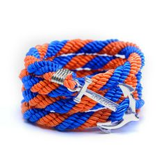 AlumniCrew Blue/Orange Are you ready to rock your school colors in authentic Alumni Crew Style? The Joseph Nogucci Alumni Crew Bracelet Collection has brought the ancient symbolism of nautical exploration and turned it into a fashion statement that says a lot about the adventurer in you and is designed to make a splash by letting you flaunt your school spirit.  - See more at: http://www.josephnogucci.com/products/alumnicrew-red-grey#sthash.63HE3xWN.dpuf