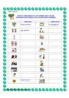 Ejercicios de Repaso | Spanish | Pinterest | Elss, Persona... and ...