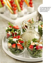 Food: Mini Salads & Perfect Size Containers #heycaryl