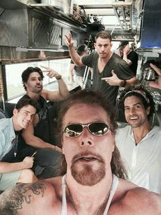 Magic Mike XXL CAST  crazy fun movie. They just go on a road trip and  have a great time and that's it. A heap more POC than #1 - yay