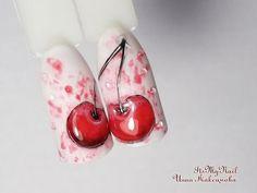 Дизайн ногтей гель лакомРисуем Ирис на ногтяхNail design Shellac - YouTube Love Nails, Pretty Nails, Fruit Nail Art, Nail Stencils, Nail Tutorials, Nail Designs, Youtube, French, Nailart
