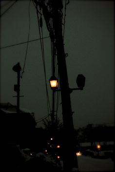 you never finished, how the low glow of the yellow streetlights made you feel