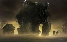 The Superb Digital Artworks of Facundo Diaz | Sci-Fi Artist