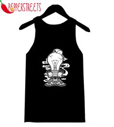 About Light Boy Tank-Top This tank top is Made To Order, we print one by one so we can control the quality. We use DTG Technology to print Light Boy Tank-Top . Custom Tank Tops, New Tank, Cute Designs, Overalls, Unisex, Boys, Cotton, How To Make, Black